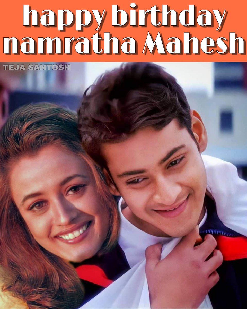 #happy birthday namratha Mahesh