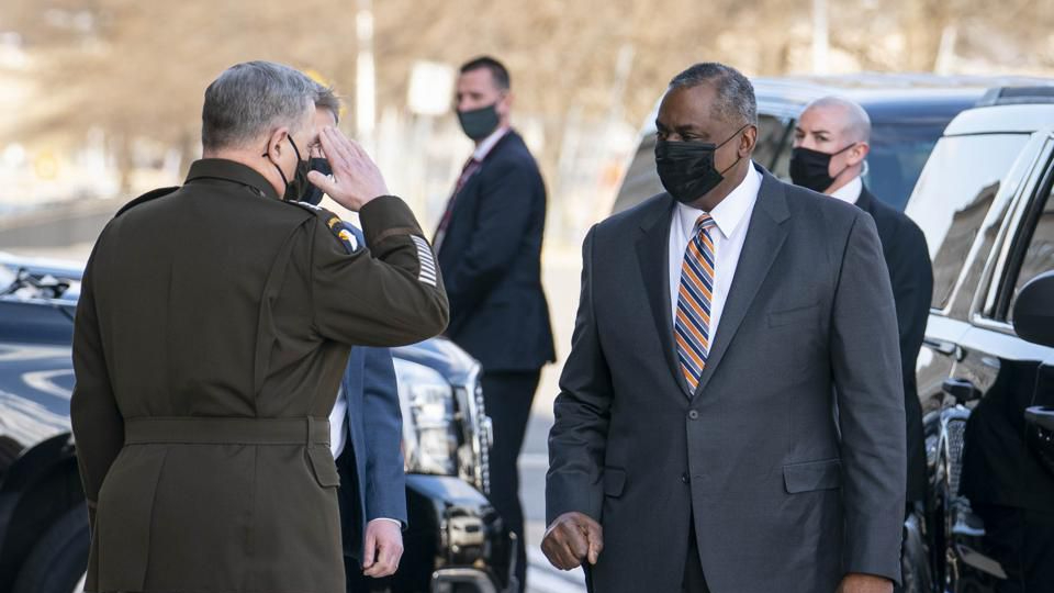 Lloyd Austin was sworn in as the first Black Secretary of Defense in U.S. history