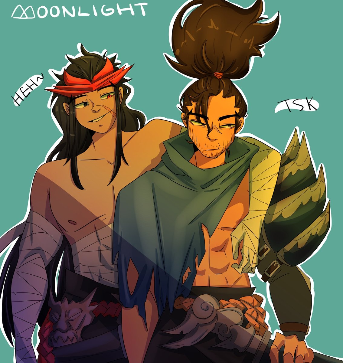 wholesome wind brothers from #LeagueOfLegends :)  #LeagueOfLegendsFanArt #yasuo #yone #art #lol