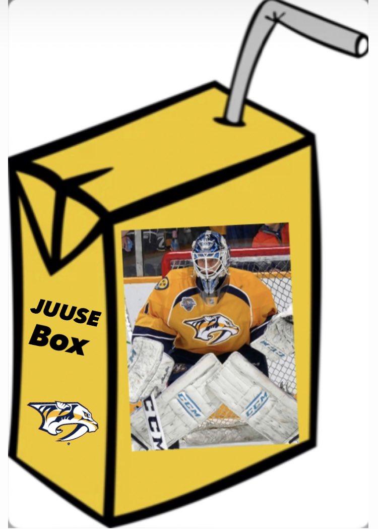 GAMEDAY time for the juusebox #lol #preds @PredsNHL #hockey #smashville #nashvillepredators #fit