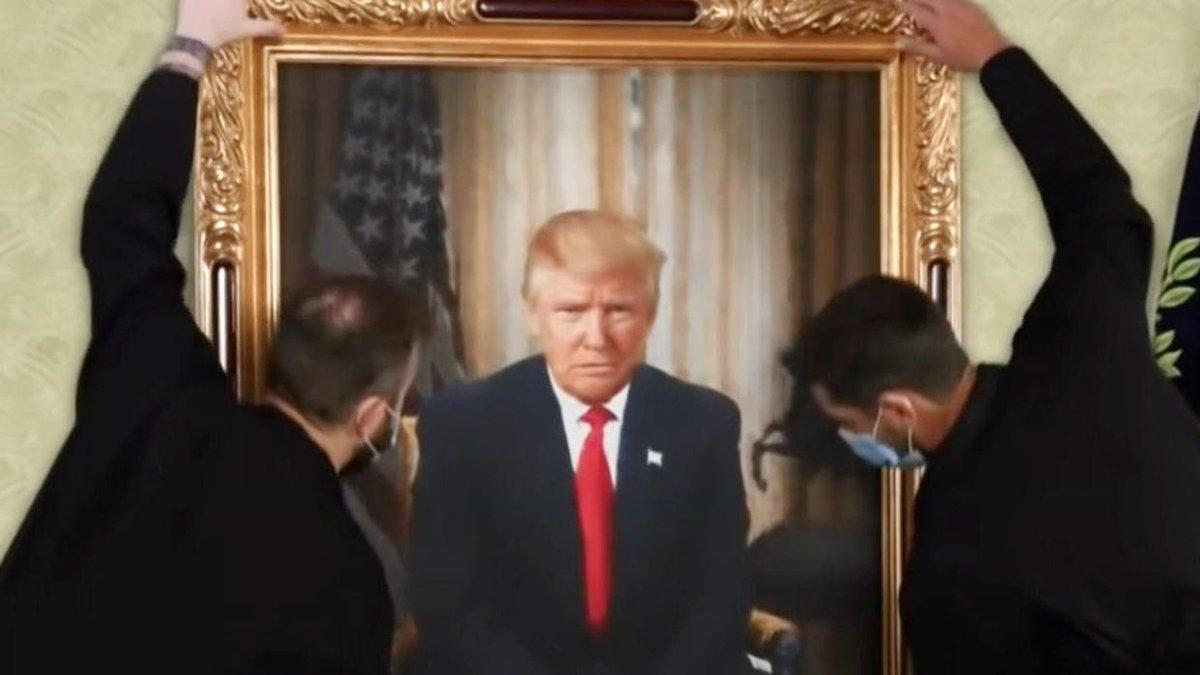Los memes virales de la despedida a Trump y su salida de la Casa Blanca.