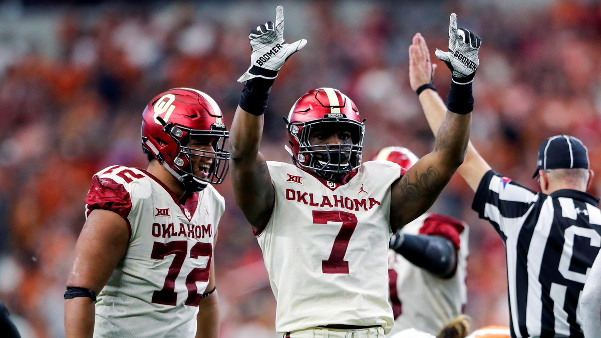 Highest-graded defender in Big 12 play this season: Ronnie Perkins, Oklahoma DL (90.5)