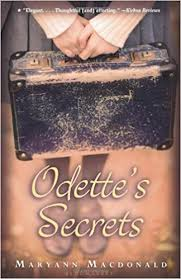 In anticipation of International Holocaust Memorial Day (Jan. 27th), I recommend Odette's Secrets by Maryann Macdonald. #WWII  #Holocaust #France #hiddenchildren
