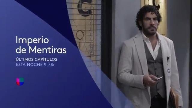 Parece que Fabricio estaba destinado a convertirse en su padre. Hoy en #ImperioMentirasUS habrá decisiones cruciales. ¡Te esperamos!