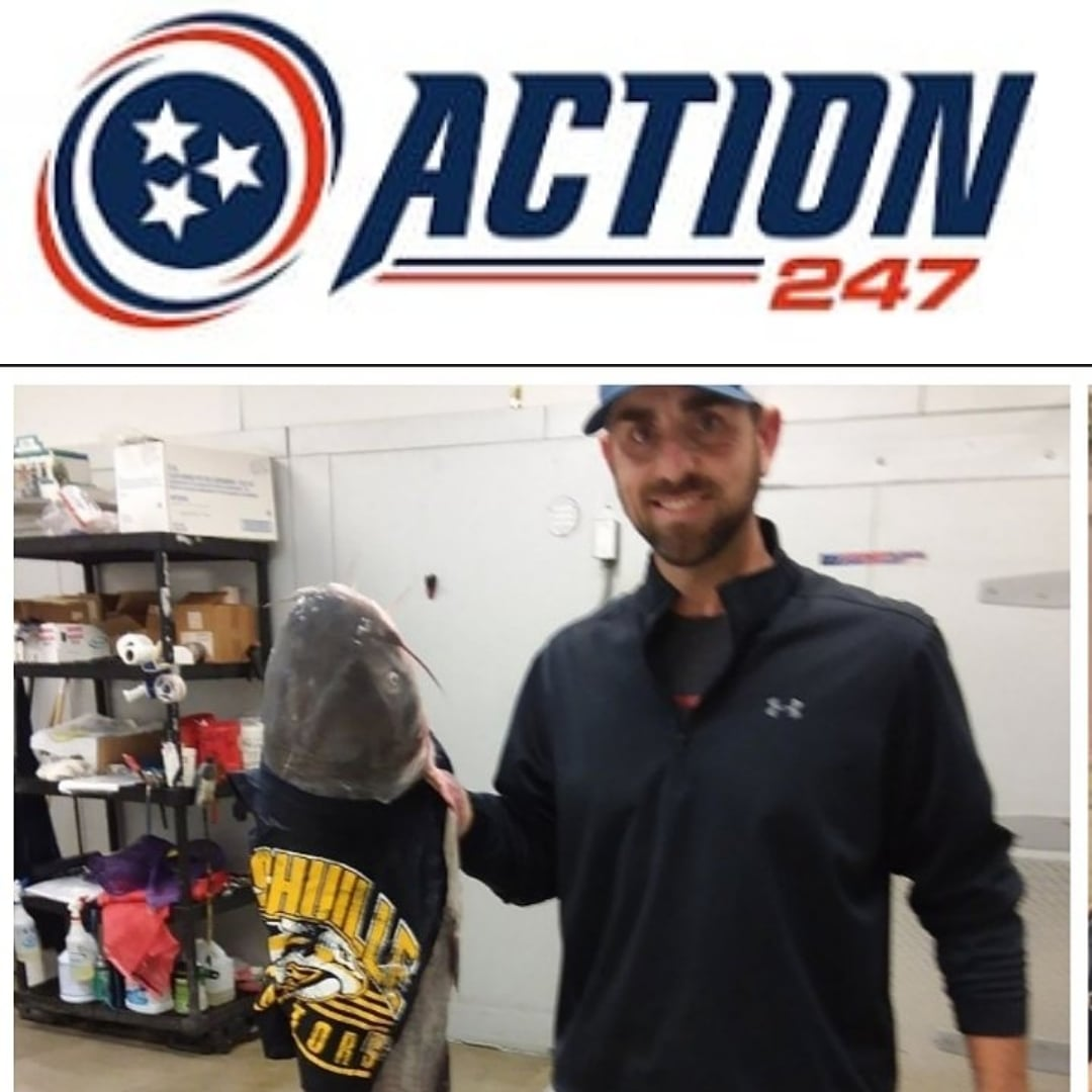 Our #smashville #Preds are back in @nhl action tonight!! Head over to @TNAction247 now before puck drop, sign up using promo code JAKE100 and have your 1st deposit matched up to $100!!! Only local legal sportsbook!!! There's a couple big @NFL games coming up too!! #catfishjake
