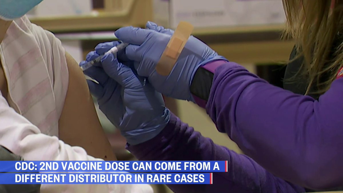 Headlines from @SimoneBoyce & @NBCNews  • CDC: 2nd vaccine dose can come from a different distributor in rare cases • Lawsuit alleges @souljaboy sexually assaulted and beat former assistant  • Japan denies reports Tokyo olympics could be cancelled