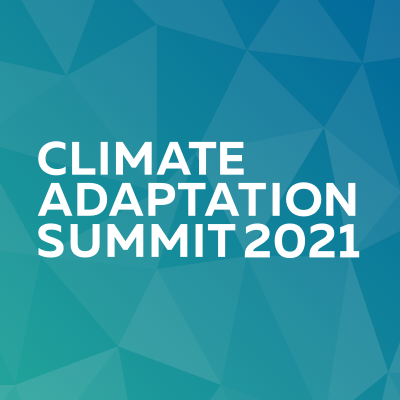 This week's Climate Adaptation Summit aims at accelerating, innovating & scaling up global efforts to adapt to the effects of the climate crises.  #ClimateAction