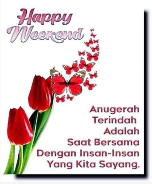 #GoodMorning #SelamatPagi  #HappySaturday #TwitterFriends   The best gift in life is to be with love ones... So have many many great moments...  #StayHome and #StaySafe...