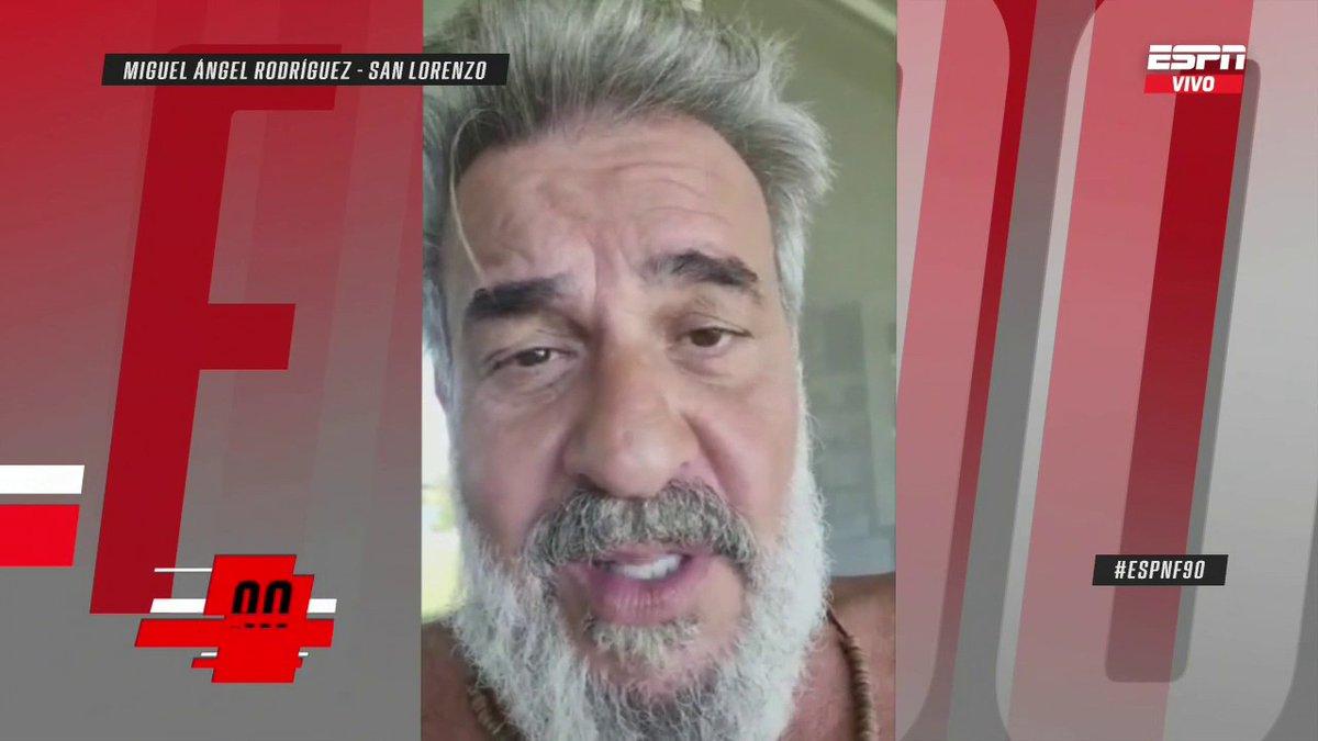 #ESPNF90 📺 | ESPN  UNA DECISIÓN DIFÍCIL  El gran Miguel Ángel Rodríguez y su lista de ídolos de San Lorenzo. https://t.co/ktRuxn4q8H