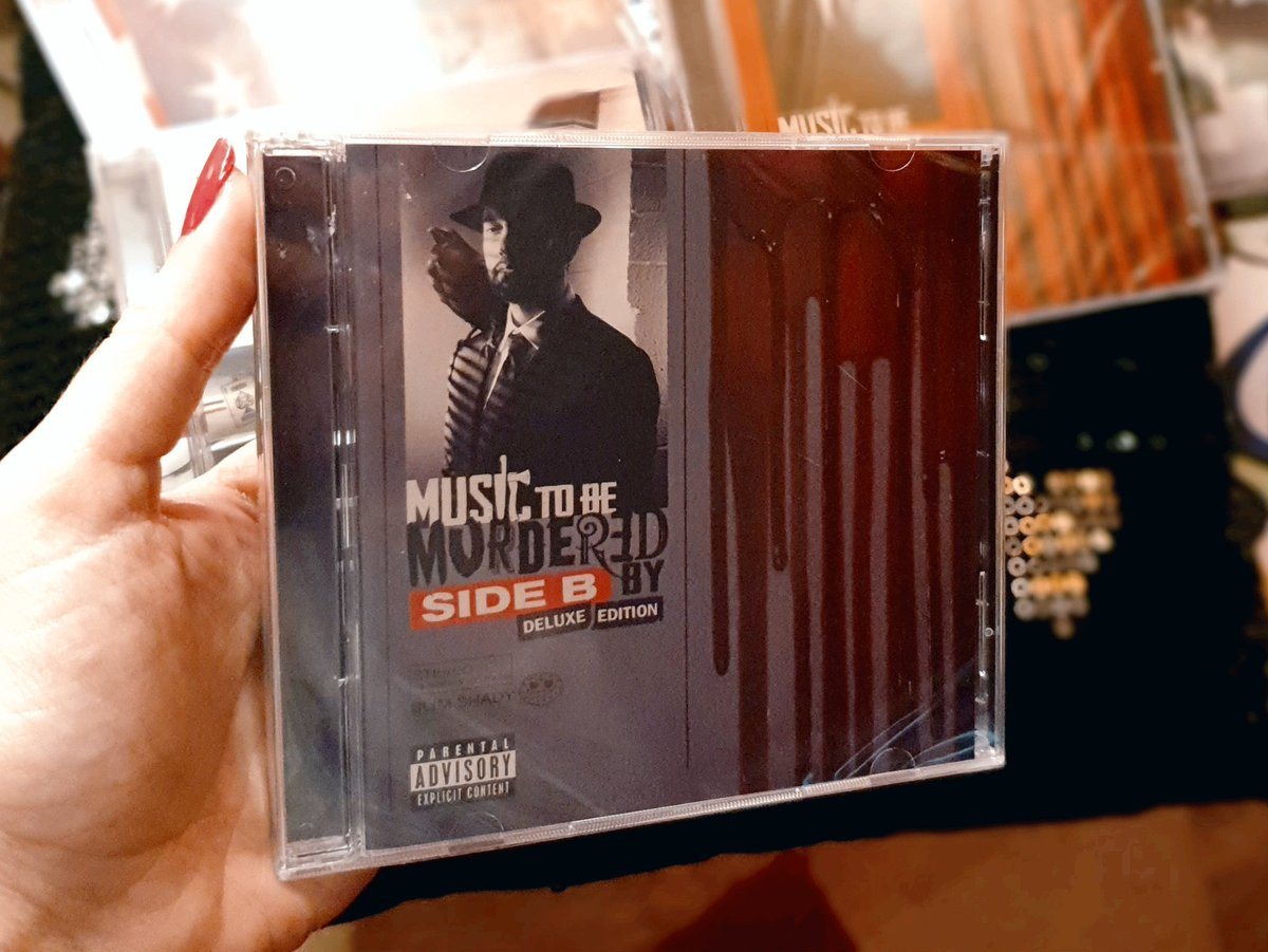 Finally in my hands 🥰 another Masterpiece!  #MTBMBSideB #MTBMB #Eminem