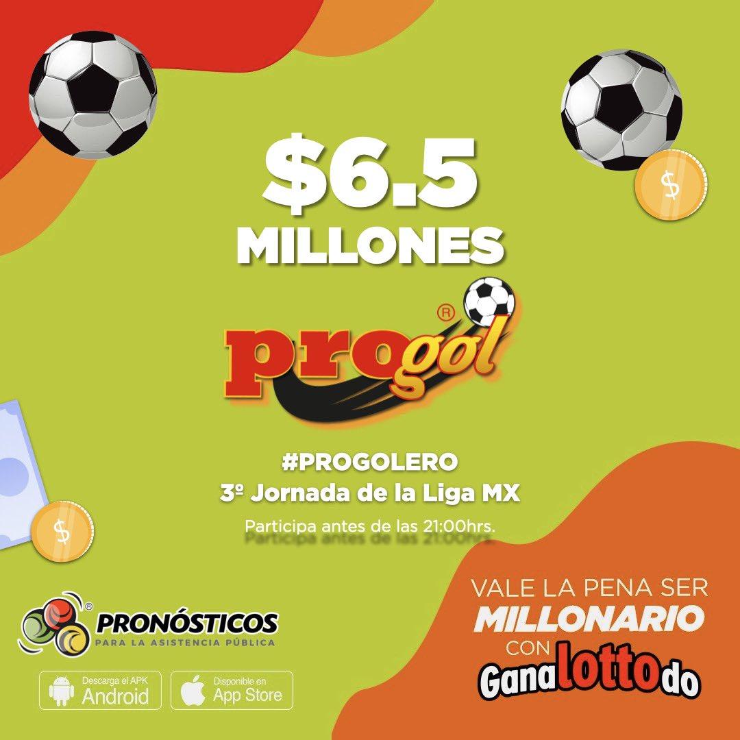 #Progoleros hoy es el día para meter tu quiniela y volverte millonario 🤑😱 Juega antes de las 9:00 pm 🥳🥳 https://t.co/ji5ZfNeLYP https://t.co/BYraUuUNrB