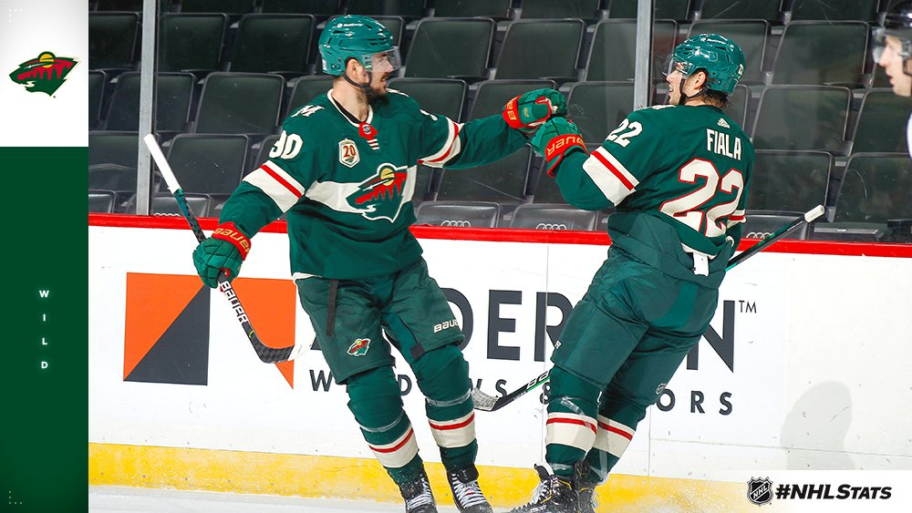 The @mnwild are off to their best start through five games in a season since 2008-09.  Best Record Through Five Games, Franchise History: 5-0-0 in 2007-08 5-0-0 in 2006-07 4-0-1 in 2008-09 4-1-0 in 2020-21 3-0-2 in 2001-02  #NHLStats