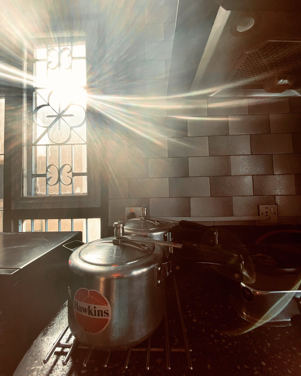 These pressure cookers are older than I am. And guys, I'm old. Gifts that my mother got on her wedding.  #pressurecooker #hawkins #nepal #home #weekend #foodie #mom #mother #aama #wedding #gift #weddinggift #love #sun #winter #patan #sunray #morning #morgen