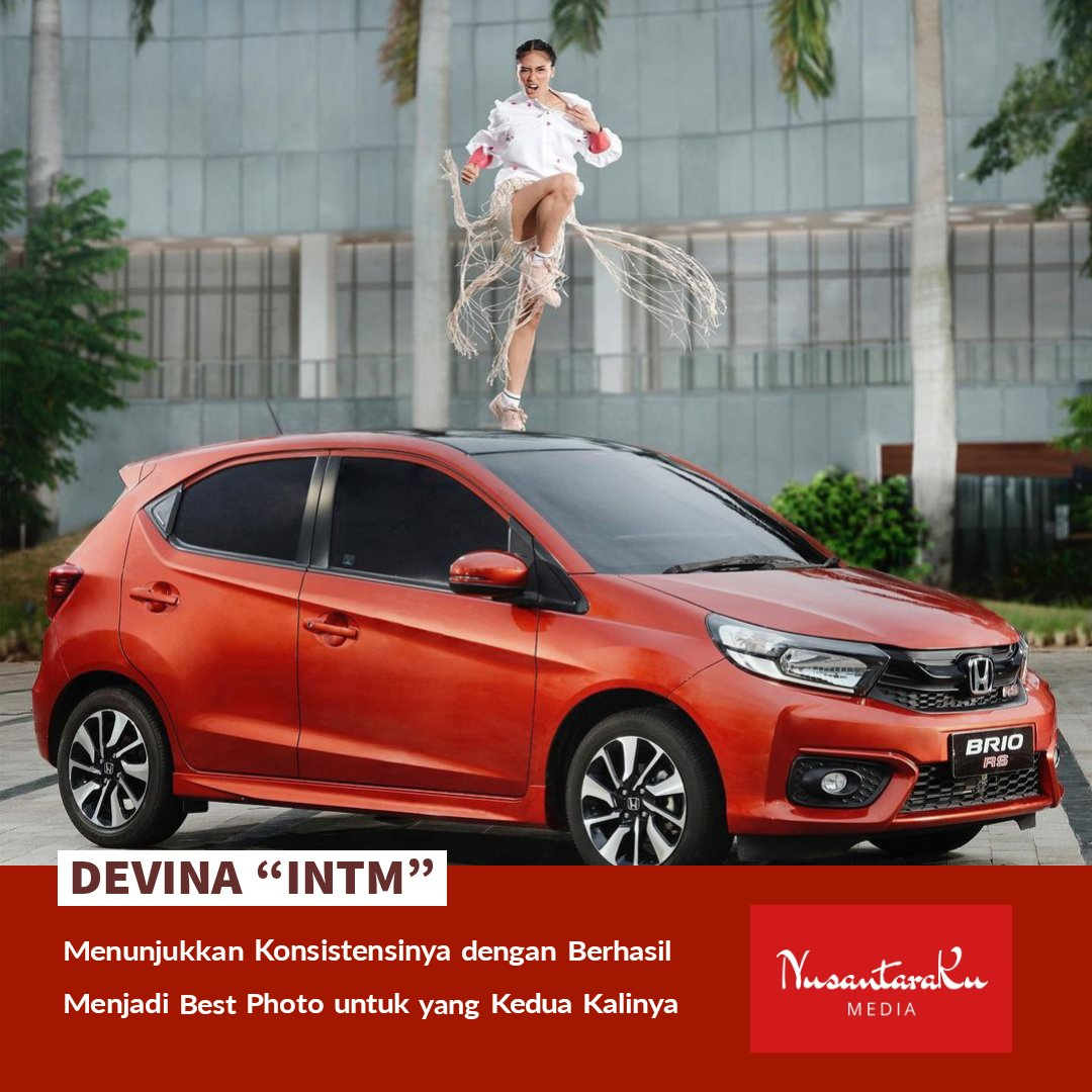 "[Hiburan]  Devina ""INTM"" menunjukkan konsistensinya dengan berhasil menjadi best photo untuk yang kedua kalinya.   #NusantaraKu #NusantaraKuMedia #Hiburan #GoodNewsForYou #Indonesia #Devina #BestPhoto #IndonesiasNextTopModel #Challenge #Model #Competition #Entertainment #Update"
