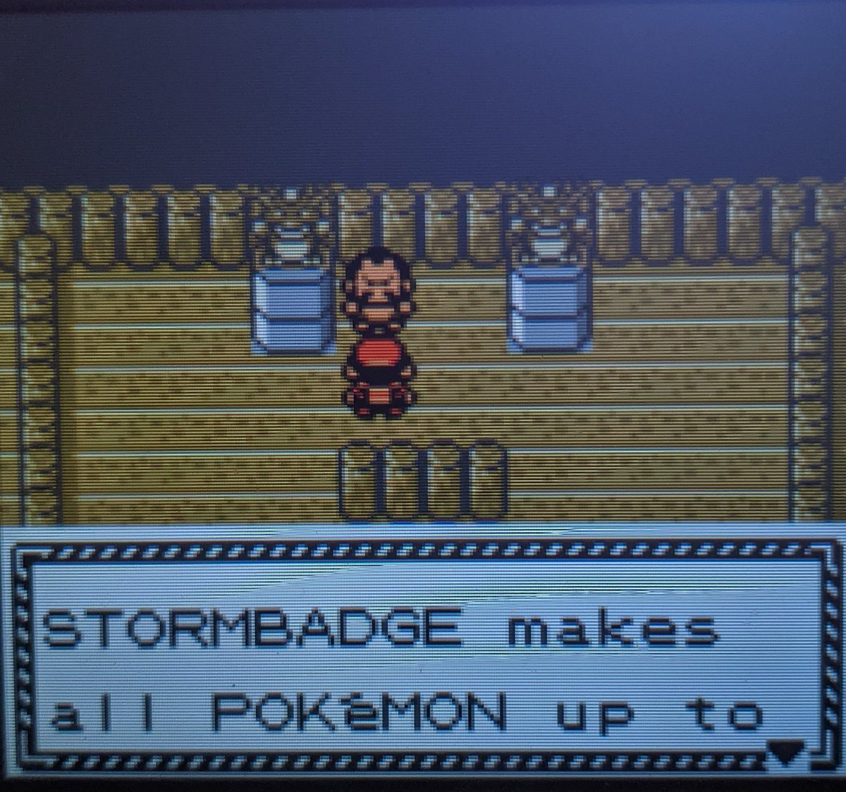 Opted to go to Cianwood first, beat chuck with ease! #PokemonCrystal #Pokemon25