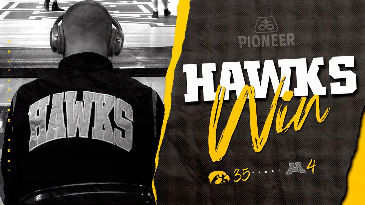 HAWKS WIN!!!  Iowa: 35 Minnesota: 4  #Hawkeyes #FightForIowa
