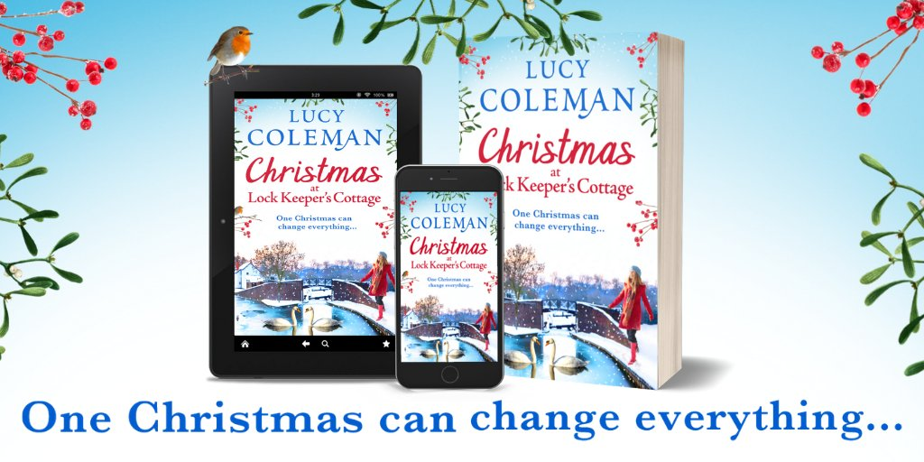⛷️ Immi has just one thing on her Christmas list... but first she's on elf duty! Take a trip along the canal and visit the little community of Aysbury. #Christmas #reading