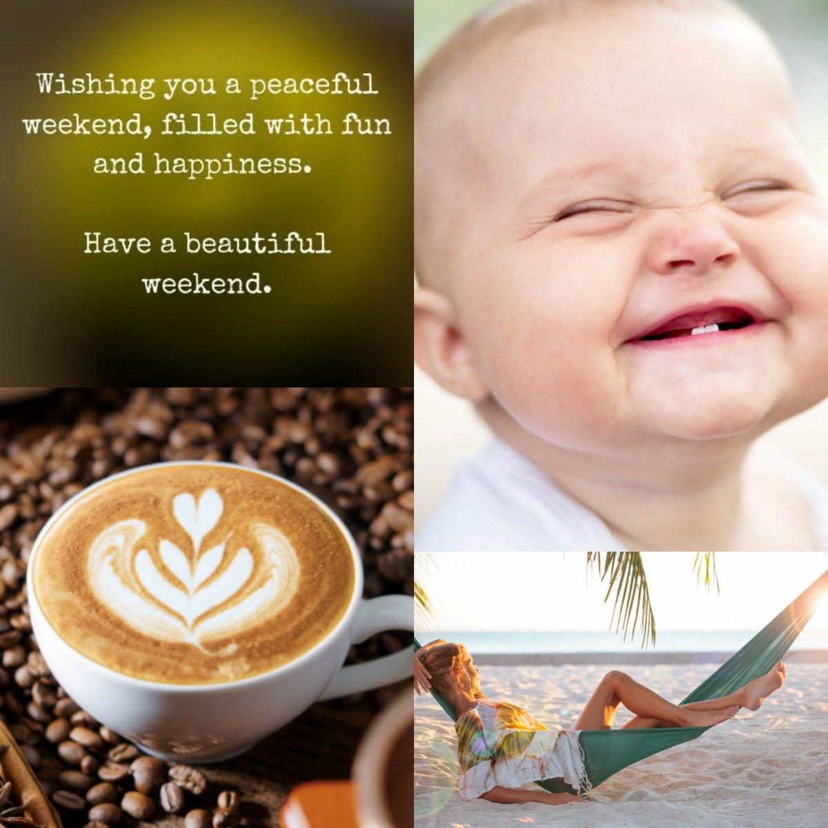 #HappyWeekend  #smile #happy  #coffee  #relaxing #WeekendMood