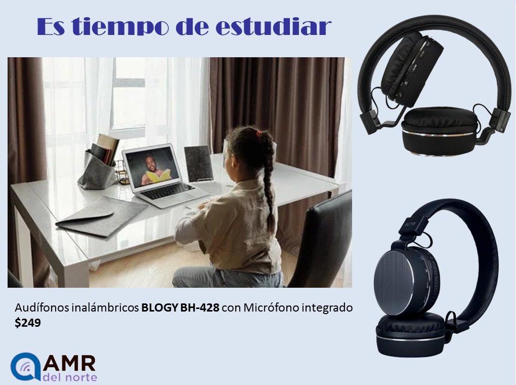 Es tiempo de estudiar con tus audífonos Blogy inalámbricos , ideales para el homeschool  . . . . . . #homeschool #homeschoolmexico #mexico #monterrey #amrdelnorte #audifonos #audifonosbluetooth #bluetooth #black #blackheadphones #headphones