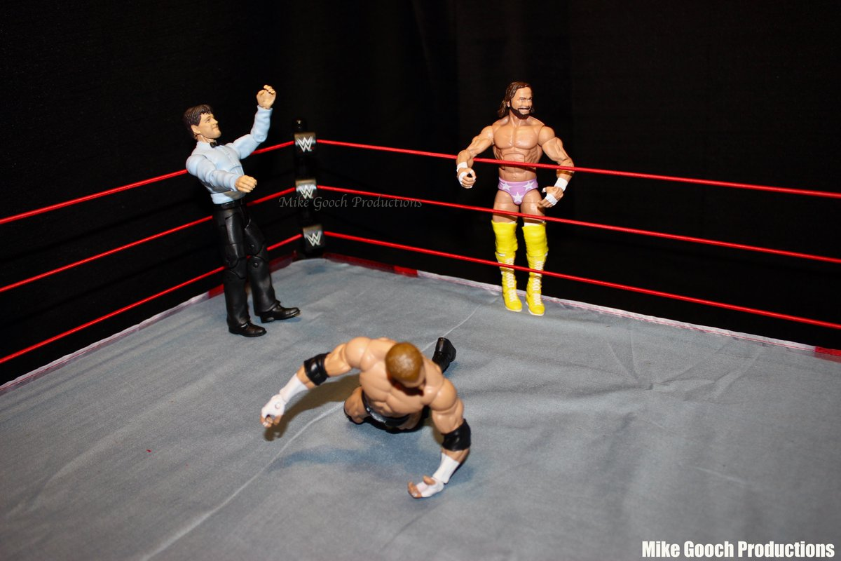 """""""Get Back In There"""" by #MikeGoochProductions  #FollowThisPhotoGuy #wrestling #WrestlingTwitter #WWE #ringsidecollectibles #photography #toyphotography #Mattel #wrestlingfigures #actionfigures #wweelitesquad #ToyCommunity #WWERaw #FigLife #SmackDown #RandySavage #MachoMan #TripleH"""