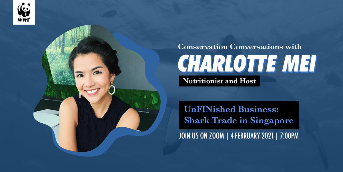 #Sustainableseafood is not always an easy choice, but nutritionist @thecharlottemei is making it easier with recipes this #CNY! Meet her virtually on 4th February, 7:00pm to know more 👀. Register here 👉