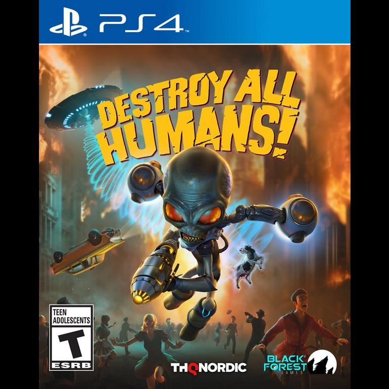 Destroy All Humans! (PS4/XBO) is $14.99 at GameStop (Pro members only) 2