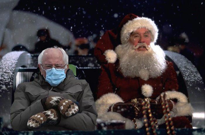 Alright, y'all. We couldn't resist. We had to jump on the bandwagon. 🪑  🧤 🎅🏻 🎄 🎁 🦌 ⛄️ 🦉 🤶🏻 🎀 ❄️   #BernieSanders #BernieMemes #FeelTheBern #BernieSandersMemes  #Inauguration2021 #TheSantaClause  #Christmas #Xmas #ItsTheMostWonderfulTimeOfTheYear #DeckTheHalls #TisTheSeason