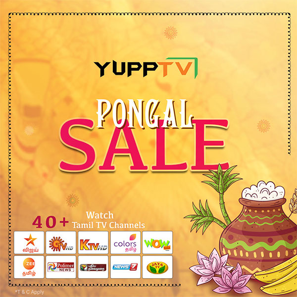 Bring home the best of Tamil Entertainment with@yupptv's#Pongaloffers. Hurry Offer Ends soon!!  Subscribe to yearly packages Now @