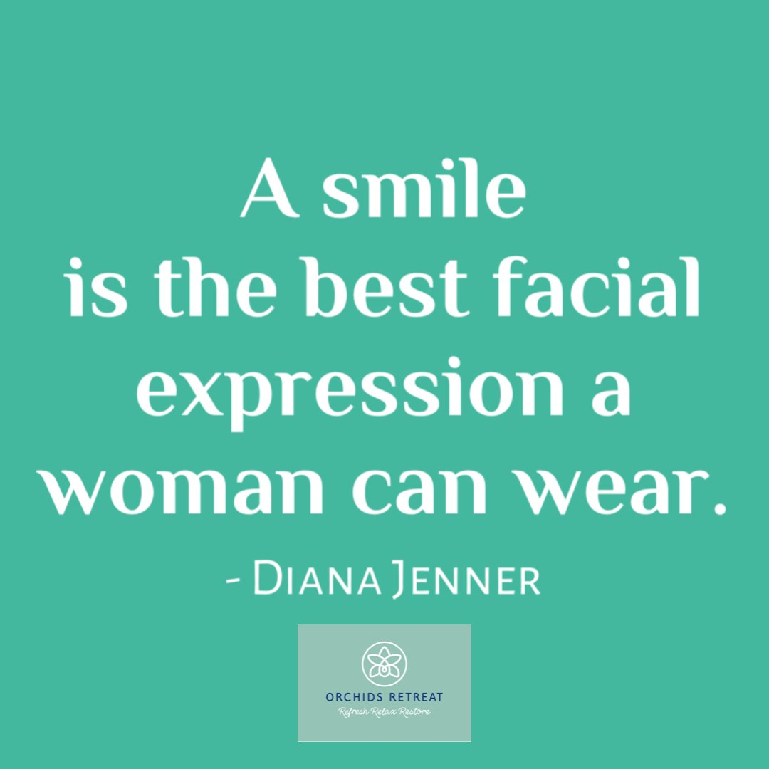 #SkincareSaturday A smile is a natural facelift. It softens lines, lifts and brightens the entire face. #dianasays #smile #glowingskin #dianajenner