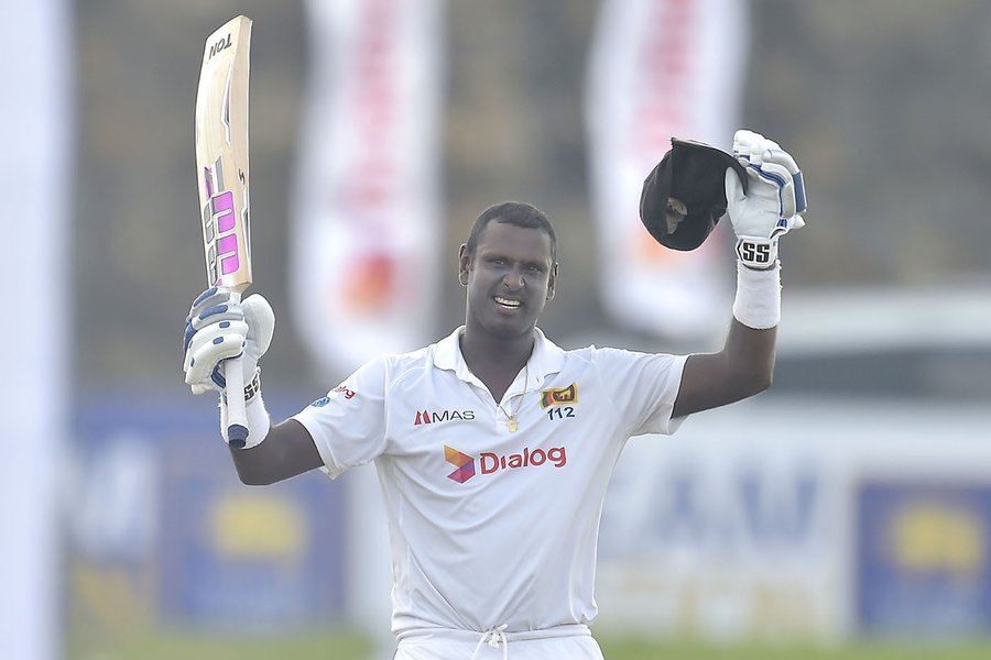 Can Angelo Mathews reach Sri Lanka a good total ?  Let's see how far Angelo takes Sri Lanka today.  2nd day has started                  ⬇️⬇️  https://t.co/NqQiNyjitg   #SLvENG https://t.co/JJcsFcT5sK