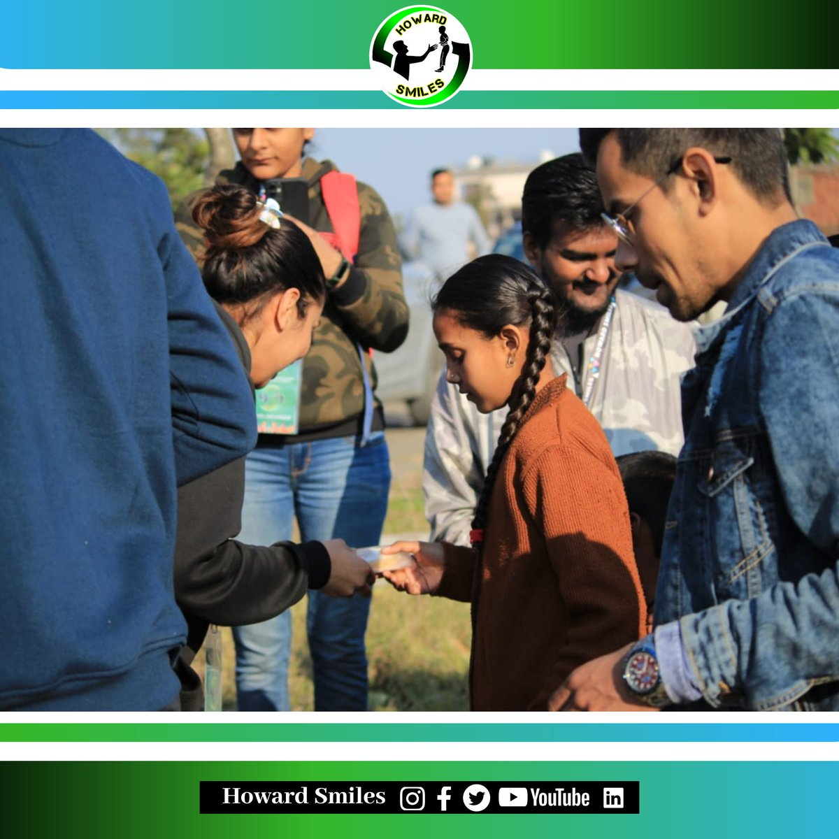 Willing hand to help someone is real service in terms of humanity. #howardsmiles #lpu #smile #studentorganization #socialwork