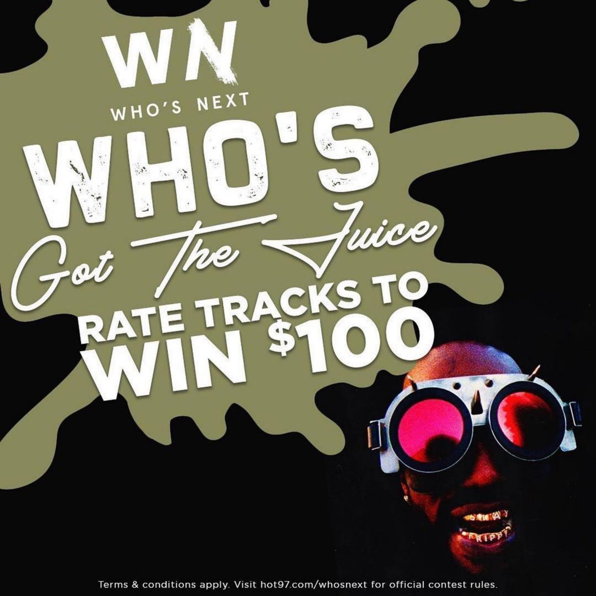 """Do YOU love listening to new music? 🎶   Then help us rate tracks & qualify to be 1 of 3 winners to receive $100 cash just for being a """"music expert"""". 💸   Sign up now and rate music! -"""