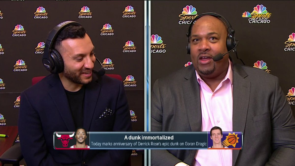 If you don't watch Bulls Pregame and Postgame, you're missing out 💀  @adamamin @Jason1Goff @KendallG13 @Stacey21King
