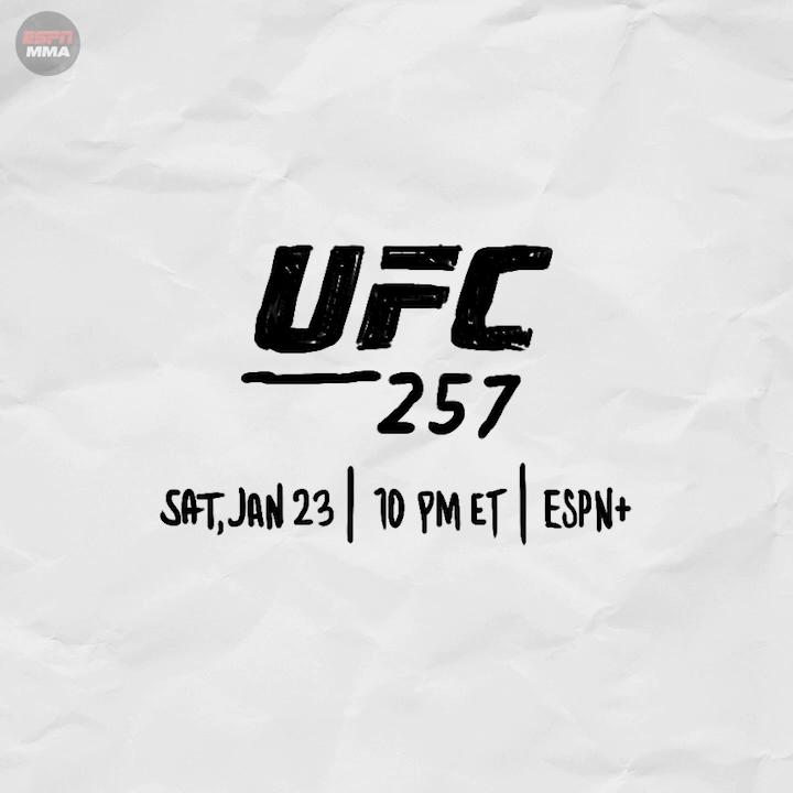 Return of The Mac 👑  #UFC257 🔜