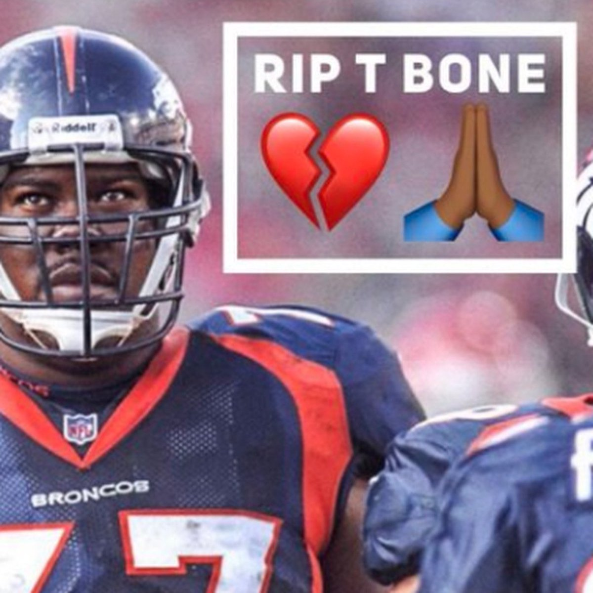 Replying to @markschlereth: Love you my friend! Until we see each other again in heaven RIP.
