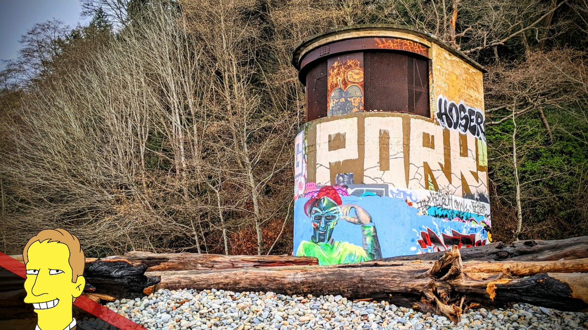 Remains of the abandoned WWII buildings are still visible at Point Grey on the grounds of the University of British Columbia.  Watch Now:   #abandonedplaces #abandoned #abandonedbuilding #UBC #WWII #history #historic #wwiihistory #britishcolumbia #vancouver