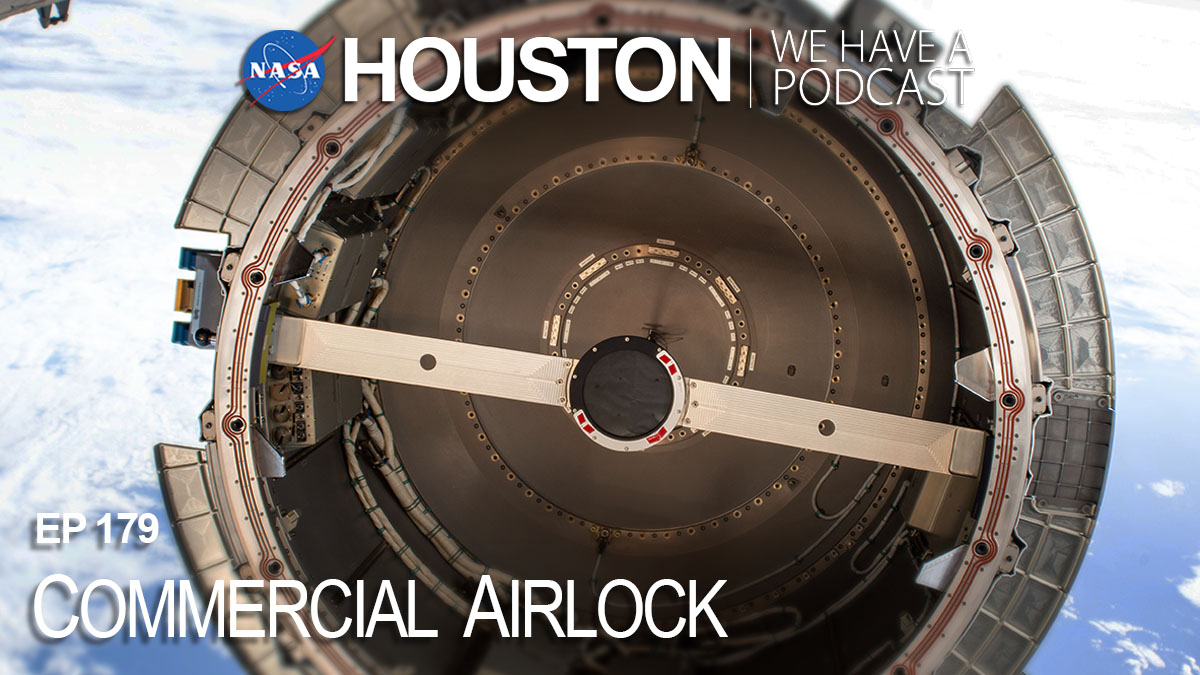 "The @Nanoracks Bishop Airlock made its way to the @Space_Station recently. It's a commercial module with a variety of interesting capabilities. Get the full details on this week's episode of ""Houston We Have a Podcast.""  🔉"