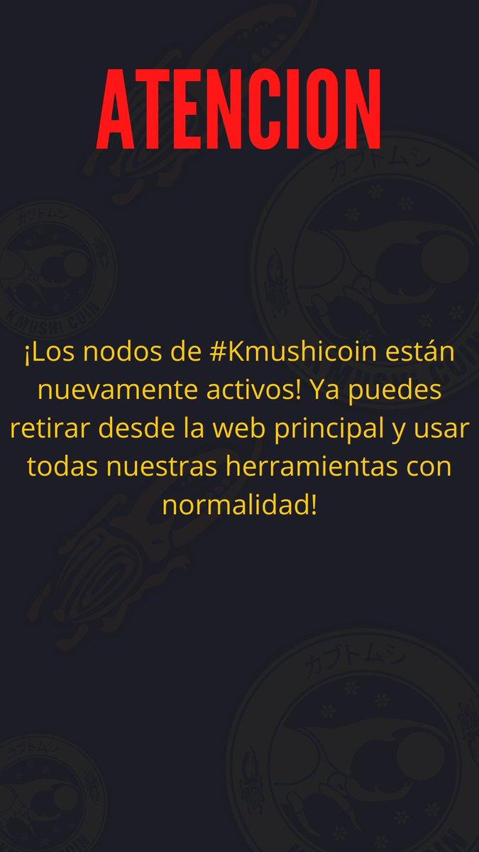 Tweet by @kmushicoin