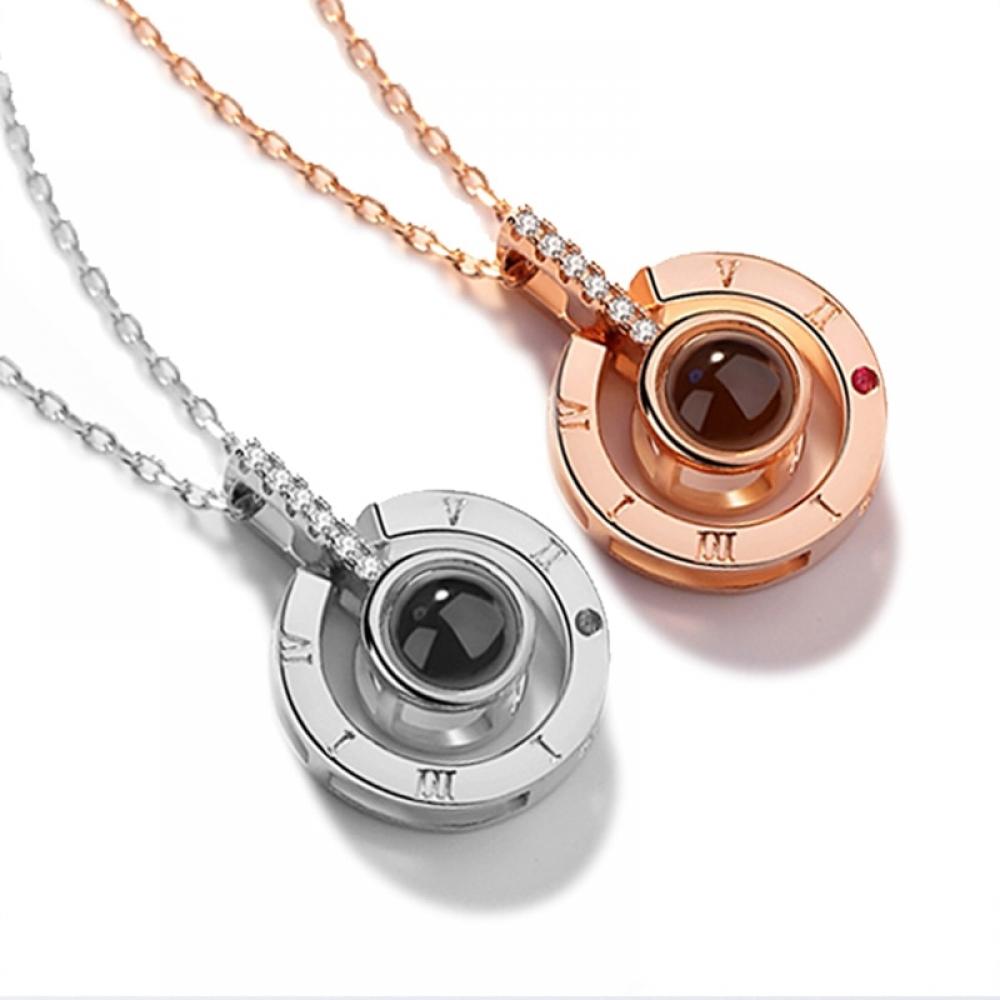 #cute #pretty Romantic Projector Pendant Necklace