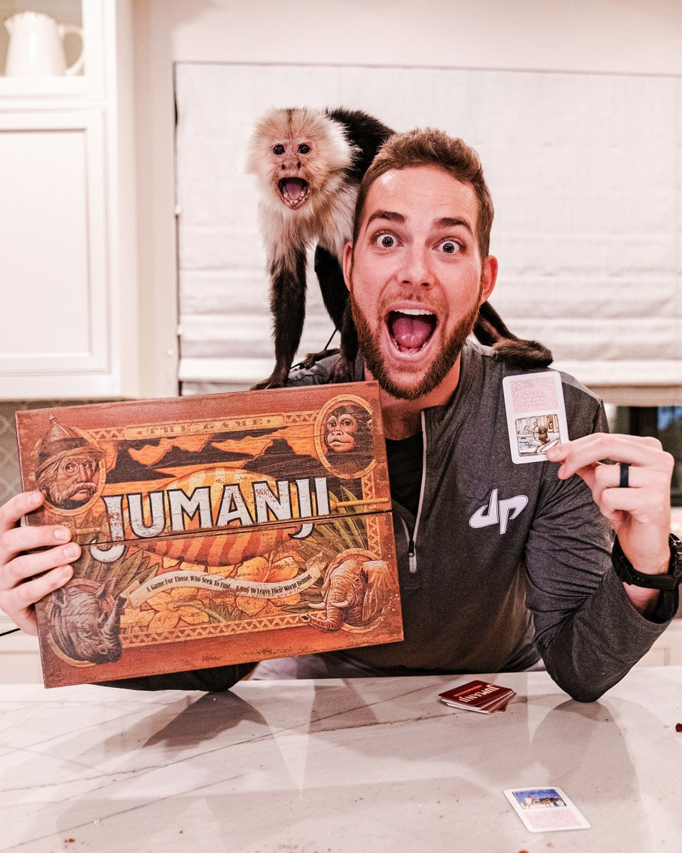 Found an old Jumanji board in the attic…what could *possibly* go wrong?? 🐒  Game Night Stereotypes drops MONDAY.