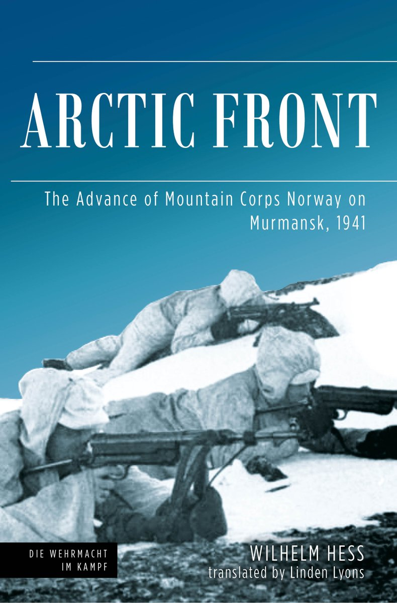 Coming soon! A first-hand account of Germany's 1941 attack on Murmansk.   Pre-order now! 👇   #WWII