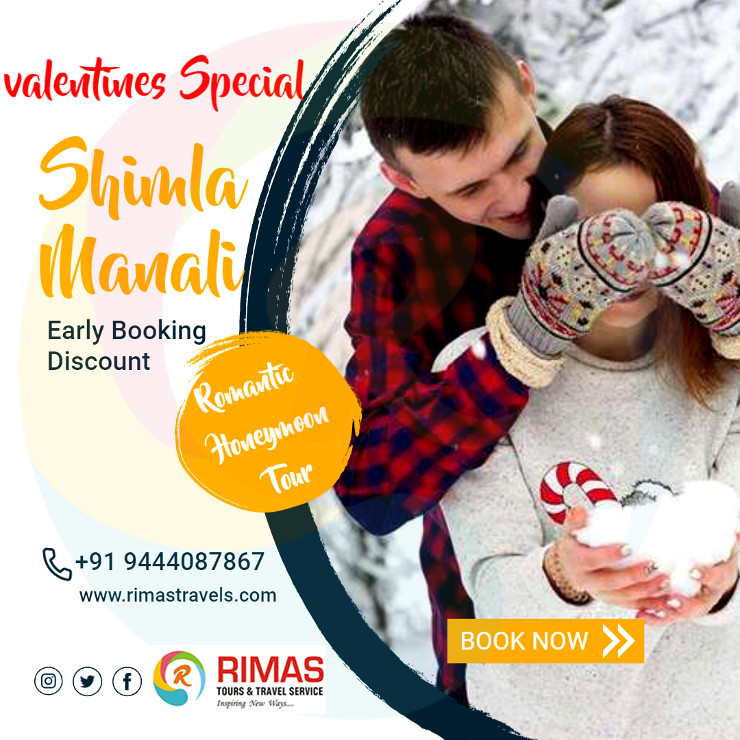 Are you planning to take your loved ones in the dream place? Then you should take the Shimla Manali tour package because it is the effortless options to enjoy this Valentine's Day with your loved ones. #honeymoon #travel #shimla #kullu #manali #happiness💕 #love #dubai #Maldives