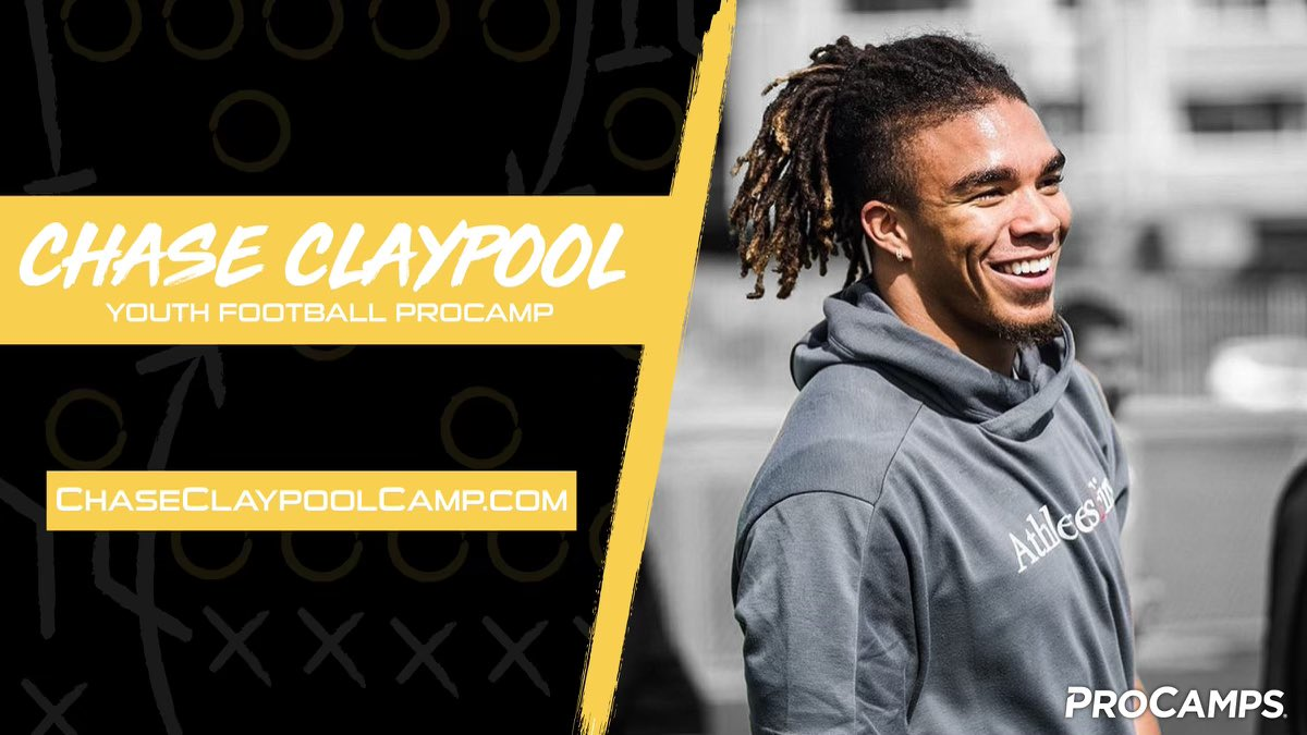 Excited to announce my inaugural Youth Football @ProCamps! Reserve your spot today at . Limited spots are available. Hope to see you there!