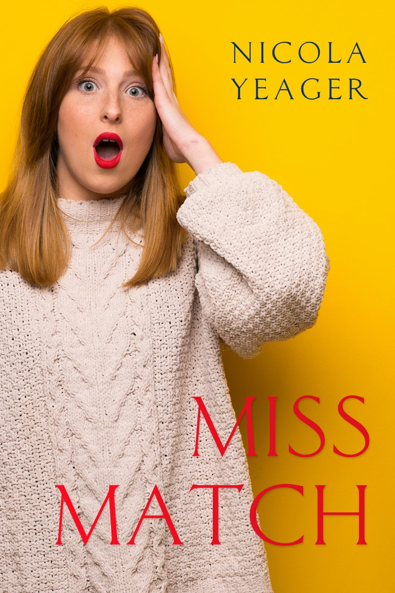 Miss Match by Nicola Yeager. 'Rubenesque is overweight but shaggable because of it.'  #Fun #MustRead #AgonyAunt #ChickLit #Booze