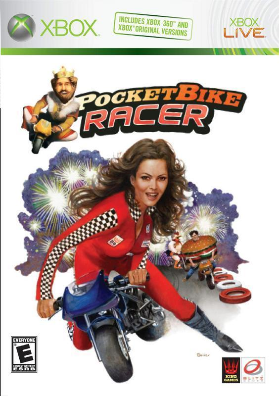 Race around as some of the best Burger King characters in wild exciting tracks to the finish in Pocketbike Racer #microsoft #xbox360 #fun #gamer #race