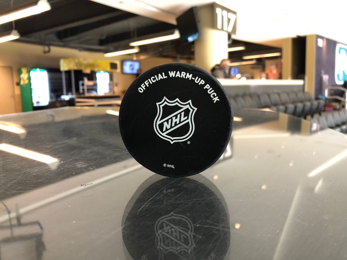 Way to go Kathy Keenan!   A Pens season ticket holder in section 110 since 2014...this official warm-up puck is YOURS!! -DP @penguins