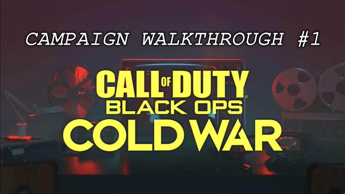 First walk-through of #BlackOpsColdWar campaign