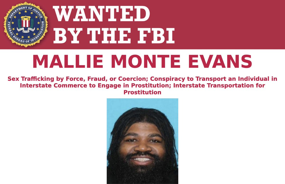 Mallie Monte Evans and Elizabeth Sanchez are #wanted for allegedly running a multistate prostitution operation. Both are known to visit Miami, Atlanta, Las Vegas, Philadelphia, and Dallas. Submit tips at . #FugitiveFriday