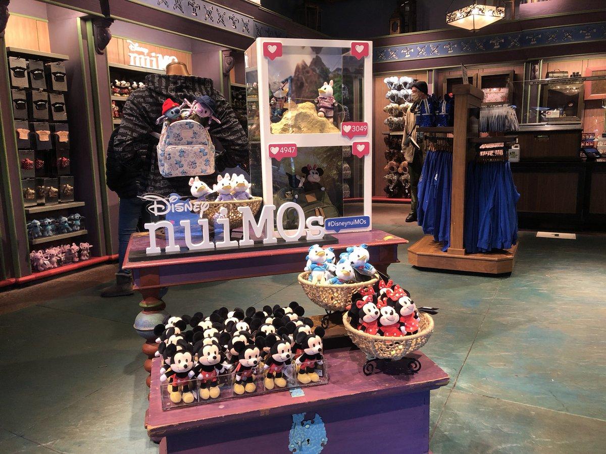 【WDW】 ワールドにもやってきた、#nuiMOs 🥺❤️ ミキミニ、ドナデジ、スティッチエンジェルと着せ替え洋服の販売になってます👍 #ぬいもーず #ディズニーワールド  #海外ディズニー