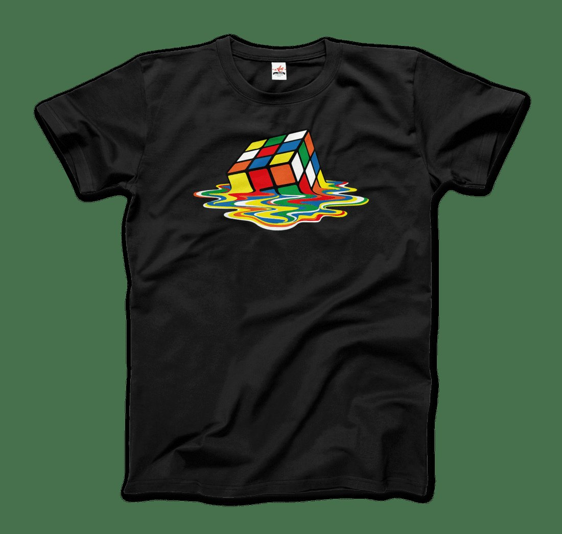 Rubick's Cube Melting, Sheldon Cooper's T-Shirt Available for Purchase at   #urbanwear #streetwear #fashion #streetfashion #mensfashion #streetstyle #fashionblogger #menswear #urbanfashion #newyork #urbanstyle #clothing #atlanta #streetphotography #houston